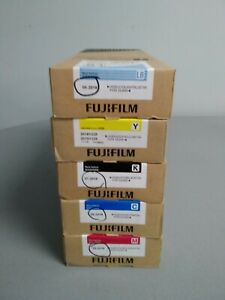 NEW FUJIFILM DL600 INK CARTRIDGES-700ML FOR FRONTIER DL600 (SET OF 5) CMYB, LB