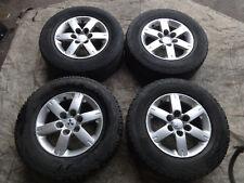 "Mitsubishi shogun / pajero mk3 3.2 DI-D LWB 2001-2006 17"" alloy wheels + tyres"