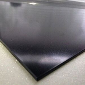 2mm Black Smooth ABS Sheet 7 SIZES TO CHOOSE Acrylonitrile Butadiene Styrene