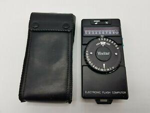 VINTAGE VIVITAR ELECTRONIC FLASH COMPUTER / METER