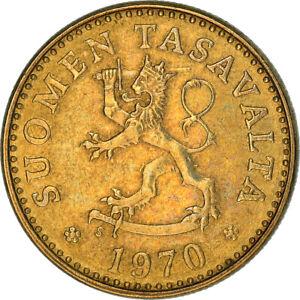 [#383667] Monnaie, Finlande, 10 Pennia, 1970, TTB+, Aluminum-Bronze, KM:46