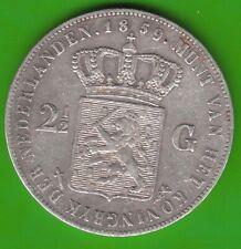 Niederlande 2 1/2 Gulden 1859 sehr schön nswleipzig