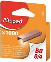 Maped 325205 9 Lot d'agrafes cuivrées BB 8/4