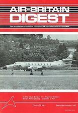 AIR-BRITAIN DIGEST SEP 87: BREGUET 19/ RIVIERA TOUR PICS/ CRANFIELD 87/ FAIRFORD