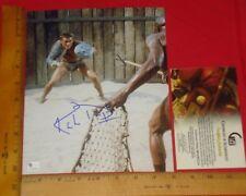 "REAL Authentic Kirk Douglas Signed 8""X10"" Color Photo Global /GA/GAI/GV RARE V3"