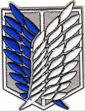 Attack on Titan Wings of Freedom iron-on patch superhero embroidered logo