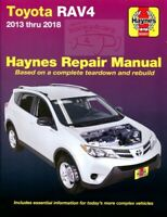 RAV4 TOYOTA SHOP MANUAL SERVICE REPAIR HAYNES BOOK 2018 17 16 15 14 13