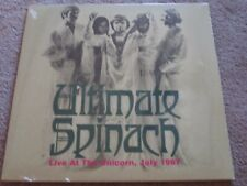 ULTIMATE SPINACH - LIVE AT THE UNICORN JULY 1967 - NEW - LP RECORD
