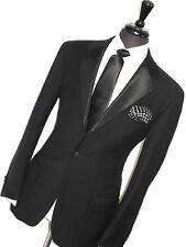 Luxe Homme Ralph Lauren Polo Tuxedo Dîner Sur Mesure costume 42R W36 x L32
