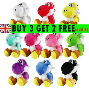 17cm Super Mario Bros Yoshi Plush Toys Soft Stuffed Doll Plush for Kids Gifts Q