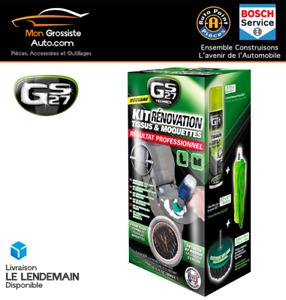 GS27 Kit de rénovation tissus et moquettes avec visseuse