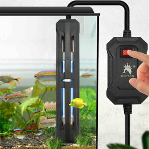 Fish Tank UV Sterilization Lamp Aquarium Ultraviolet Submersible Algae Remov AU