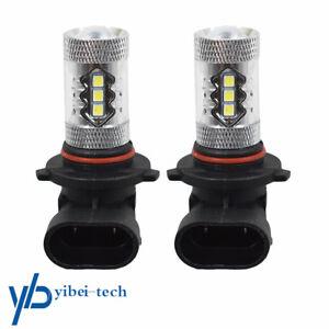 For Toyota Tacoma 05-11 Fog Lights bulbs 6000K White 80W LED Bulbs 9145 USA