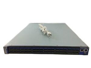 Mellanox Infiniband IS 5030 36 Port 40 Gb QSFP Switch Dual PSU MIS5030Q-1SFC