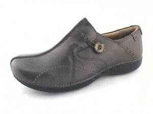 CLARKS Unloop Loafers Unstructured Bronze Metallic Shoes US 9.5 EU 41 $130 New