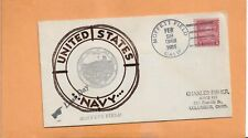 LAST DAY MOFFETT FIELD CA FEB 28,1936 US NAVY  NAVAL COVER