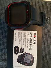 Polar RC3 GPS Bike Cycling Running Endurance Fitness Monitor - Black