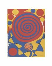 ABSTRACT ART PRINT - Untitled by Alexander Calder Spiral Circle Poster 11x14