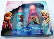 Disney Frozen ensemble cadeau eau de toilette 100ml et gel douche shampooing 200ml NEUF