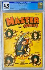 CGC 4.5 MASTER COMICS #76 .. BULLETMAN .. CAPTAIN MARVEL JR .. 1947 ..