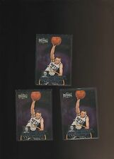 1997-98 Metal Universe Championship Preview  #9 Keith Van Horn RC Lot of 3