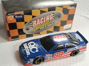 1997 Action NASCAR Dale Jarrett 88 Quality Care Bank 1:24 Scale Ford Die Cast