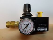 Watts FluidAir R75-02C & SV75-02 Pneumatic Lockout Valve Regulator with Dial NEW