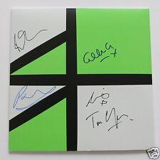 """New Order - Restless 12"""" LTD Green - Clear Vinyl LP + 5 Autogramme / Autographs"""