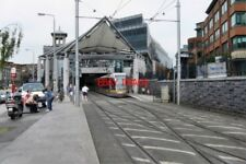 PHOTO  2009 DUBLIN LUAS TRAM AT CONNOLLY RAILWAY STATION THIS IS THE CITY TERMIN