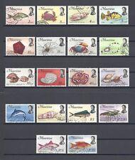 MAURITIUS 1969-72 SG 382/99 USED Cat £40