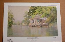 River Friends Kentucky Artist Paul Sawyier Kentucky River Houseboat