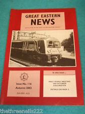 GREAT EASTERN NEWS #116 - AUTUMN 2003