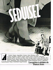 PUBLICITE ADVERTISING 044  1979   FRANCE ARNO   chaussures  SEDUISEZ