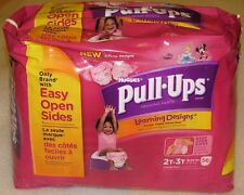 Huggies Pull-Ups Learning Designs Girls Training Pants Big Pack Size 2T-3T 56c