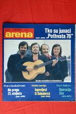 DUBROVACKI TRUBADURI ON COVER 1976 RARE EXYU MAGAZINE