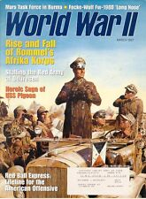 WORLD WAR II MAR 97 ROMMEL AFRIKA KORPS / MALTA / Fw190D / FREIKORPS / BURMA CBI