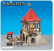 NEW Playmobil Knights 6307 Medieval Museum House w/Well/Table - LGB Train G