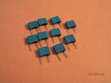 Condensador de poliéster Caja 0.1uf/63v Qty 10 de descuento