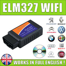 OBDII OBD2 WIFI ELM327 Diagnostic Scanner For iPhone iOS Android iPad Vgate iCar