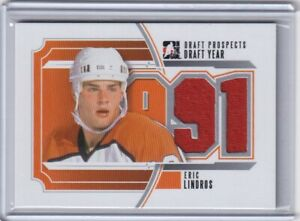 2013 ITG DRAFT PROSPECTS DRAFT YEAR SILVER JERSEY - FLYERS - ERIC LINDROS