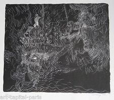 TOBEY MARK LITHOGRAPHIE 1970 SIGNÉE AU CRAYON NUM/52 HANDSIGNED NUMB LITHOGRAPH