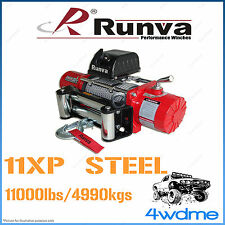 Runva 11XP 11000lbs 4990kgs 12V W/Steel Cable Recovery Offroad 4WD Winch
