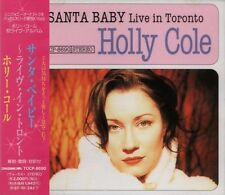 HOLLY COLE TRIO Santa Baby - Live In Toronto RARE JAPAN CD OBI TOCP-8690