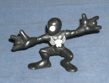 Marvel Super Hero Squad RARE Black Costume Spider Man White Emblem