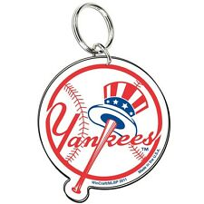 NEW YORK YANKEES PREMIUM ACRYLIC KEY RING BRAND NEW FREE SHIPPING WINCRAFT