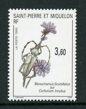 St. Pierre & Miquelon Scott #588 MNH Flowers Flora $$