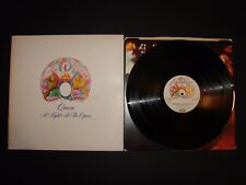 Queen A Night at the Opera Gatefold LP 1975 EMTC103 (Excellent condition)