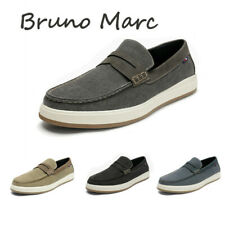 Bruno Marc Men's Penny Lightweight Slip On Loafer Shoes Breathable Casual Shoes