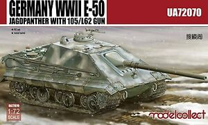 Modelcollect 1/72 Kits German E-50 Jagpanzer with 105mm/L62 Gun WWII UA72070