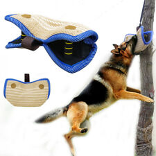 Dog Bite Wedge Tug Sleeve Malinois German Shepherd Schutzhund Jute Training Tugs